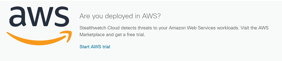Free Trial | Cisco Stealthwatch Cloud